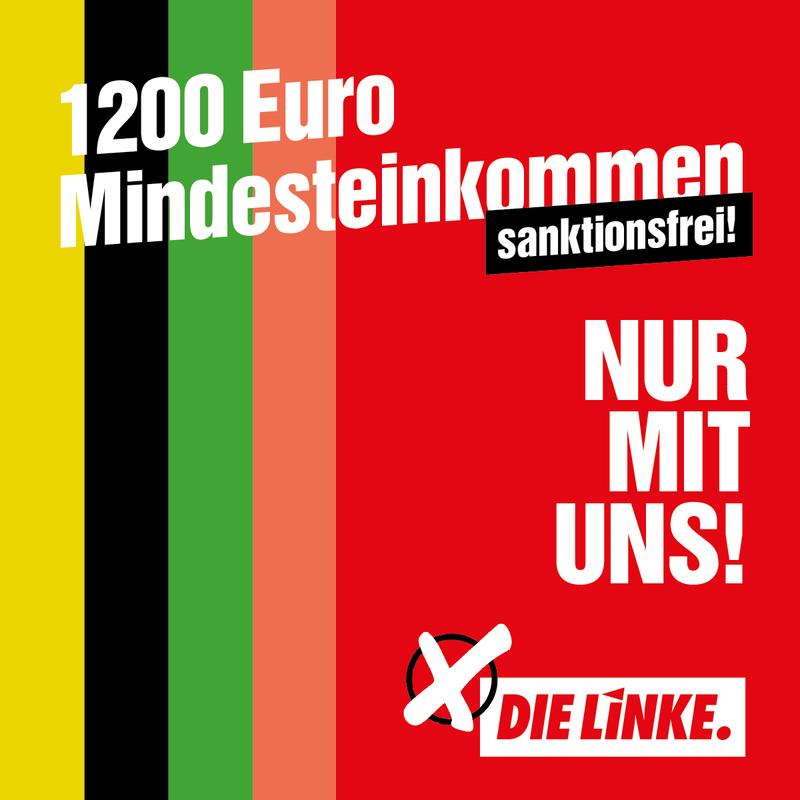 1200 Euro Mindesteinkommen