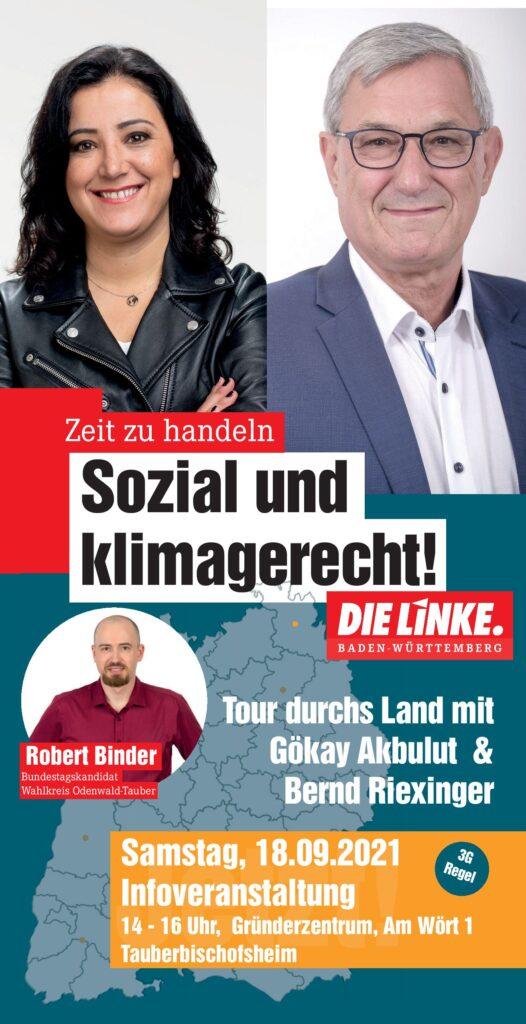 Gökay Akbulut & Bernd Riexinger in TBB