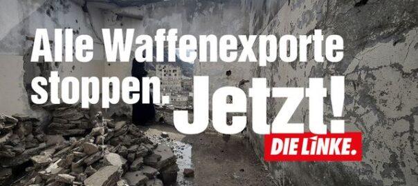 Weltfriedenstag - Waffenexporte stoppen